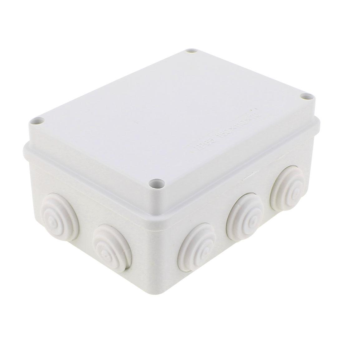 150 x 110 x 70mm Dustproof IP66 Junction Box DIY Sealed Terminal Box Enclosure