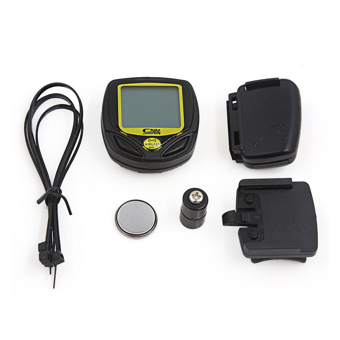 Waterproof Wireless LCD Digital Bicycle Bike Computer Speedometer Odometer