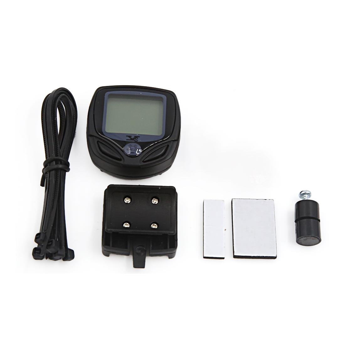 Cycling Bike Waterproof Wireless Luminous LCD Computer Odometer Speedometer