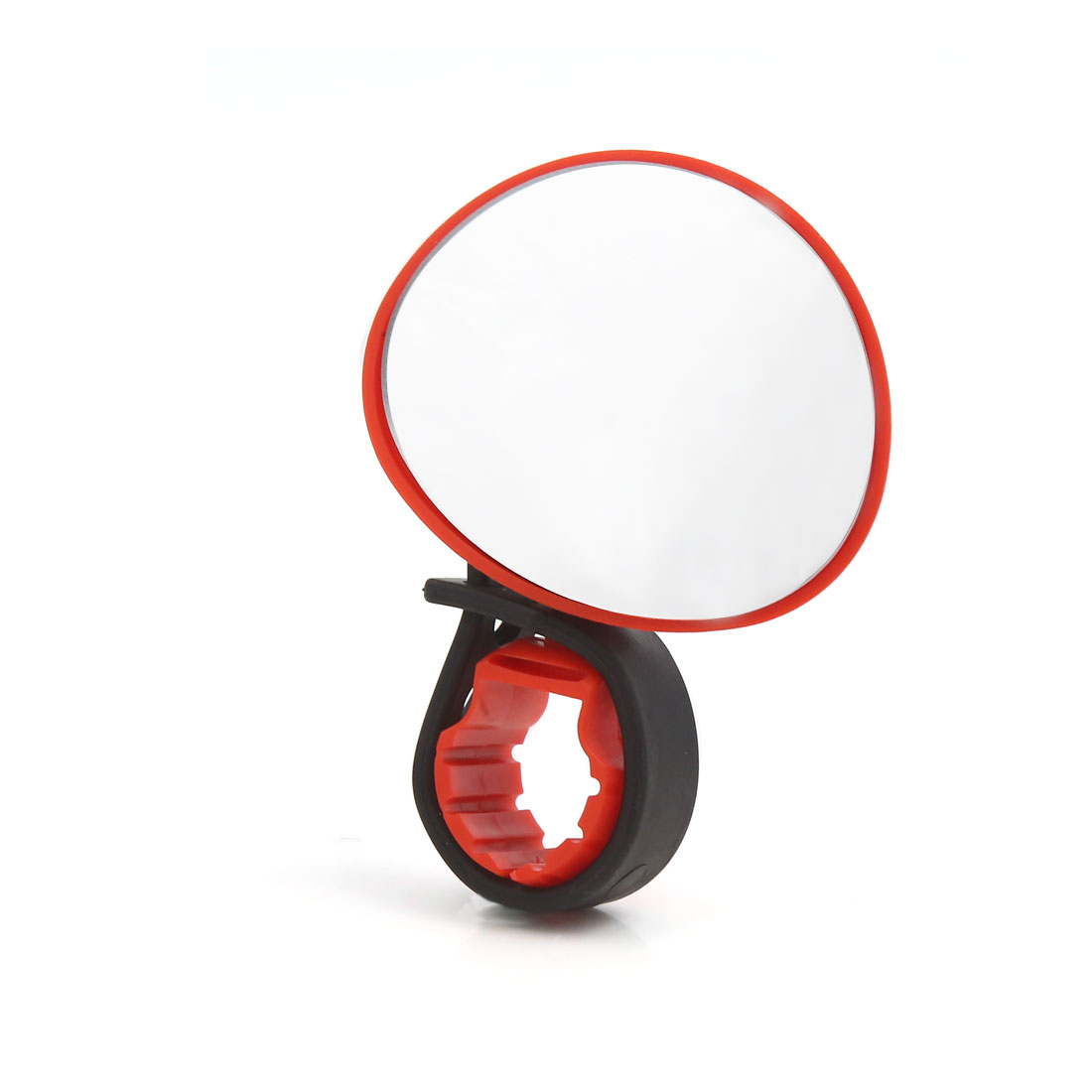 Red Adjusting Handlebar Rearview Rear View Safety Mirror for Bike Bicycle