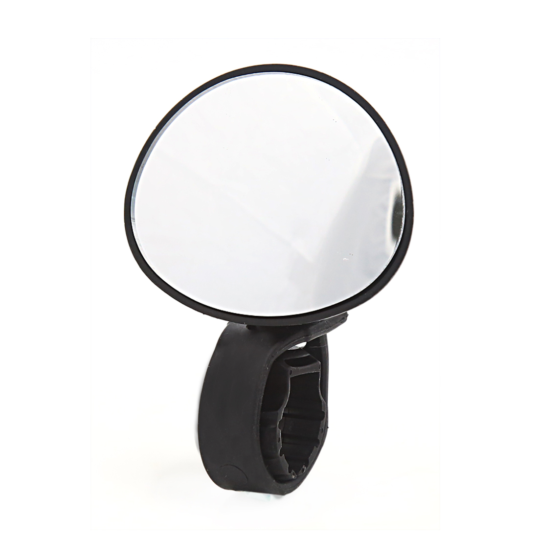 Cycling Bike Plastic Shell Rotating Handlebar Safety Rearview Mirror Black