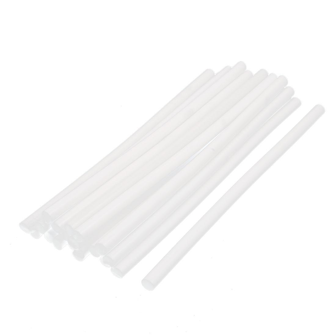 20 Pcs 11mm Dia. 30cm Length Crafting Model Hot Melt Glue Stick Milky White