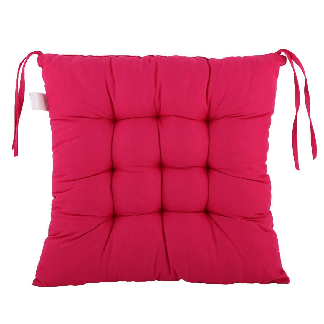 Office Cotton Blends Chair Seat Cushion for Back Tired Sciatica Relax Fuchsia
