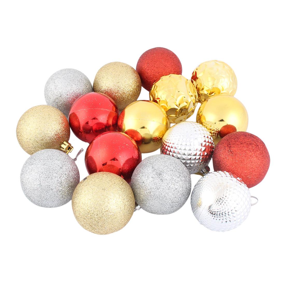 Festival Christmas Xmas Tree Ornament Party Yard Decor Hanging Balls Baubles 14pcs