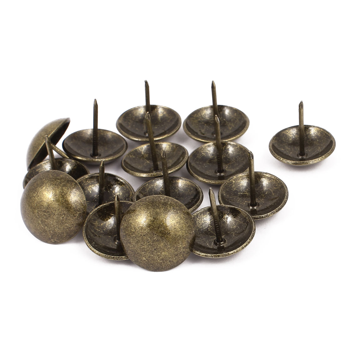 25mm Dia Metal Upholstery Tack Nail Decorative Thumbtack Pushpin Doornail 15PCS