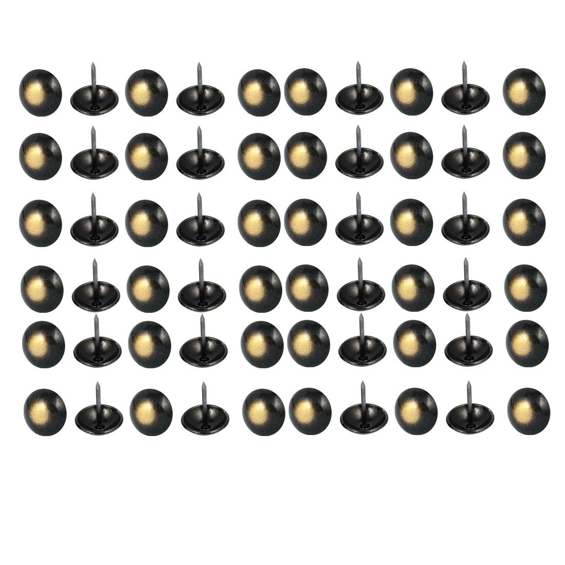 19mm Dia Upholstery Tack Nail Decorative Thumbtack Push Pin 60PCS