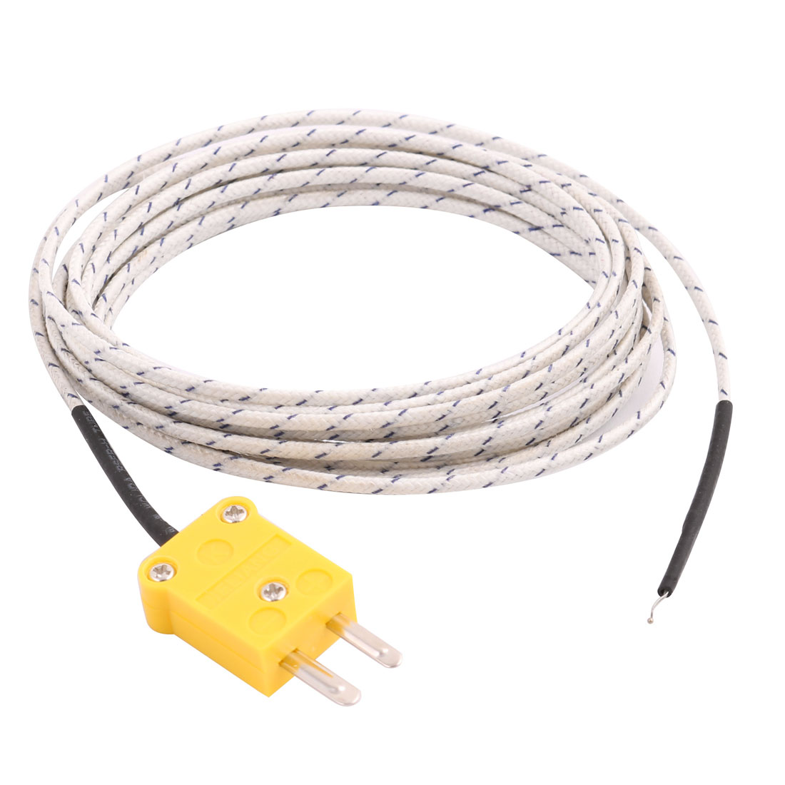 -50C to 204C K Type Thermocouple Probe Temperature Sensor 3 Meters Cable Wire