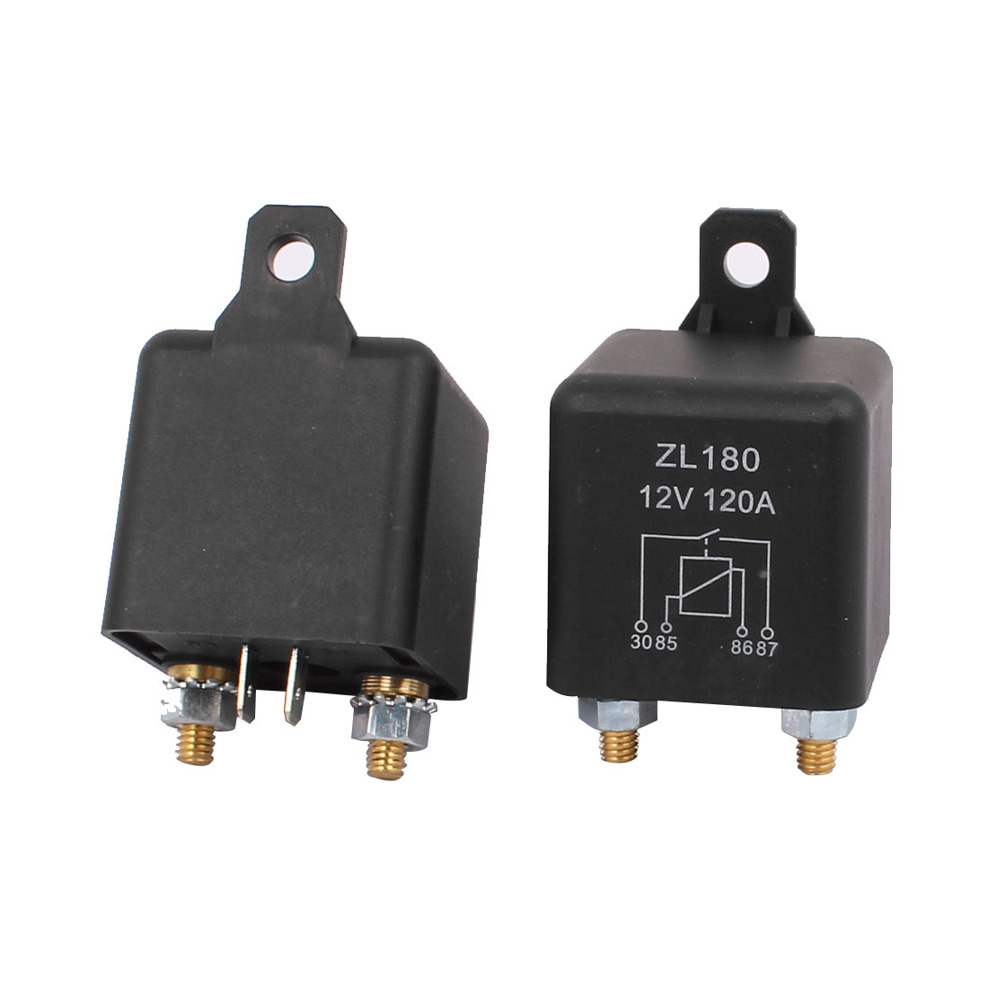 2 Pcs New DC 12V 120A Large Current Split Charge Power Relay Car Truck Boat