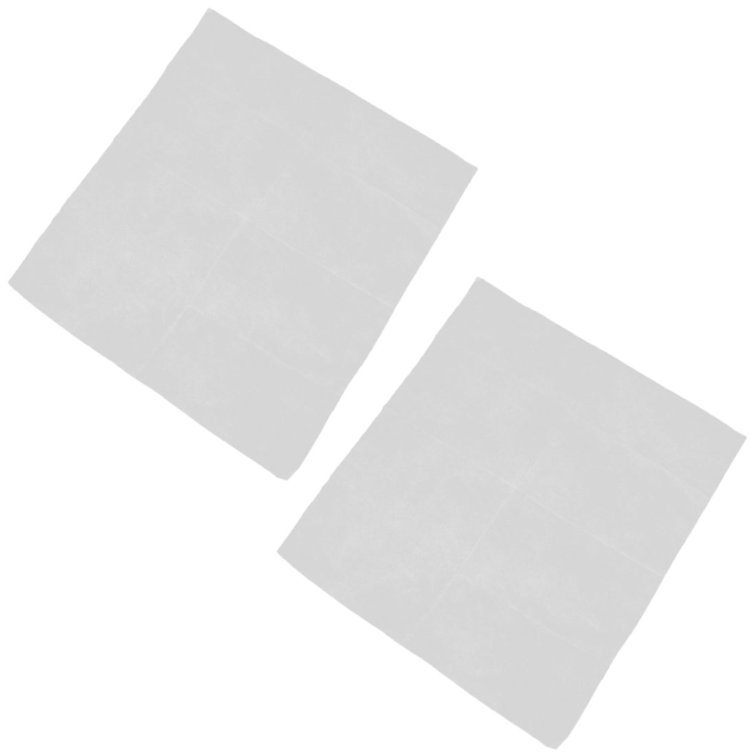 Household Bedroom Fibre Self-adhesive Replacement Air Conditioner Filter 2pcs