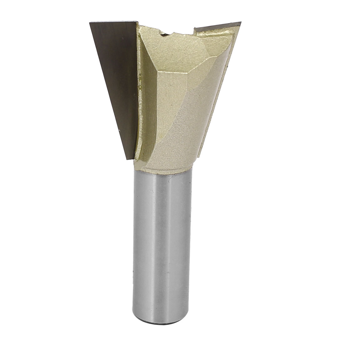 1/2-inch Round Shank 1-1/4-inch Cutting Dia Woodwork Dovetail Router Bit