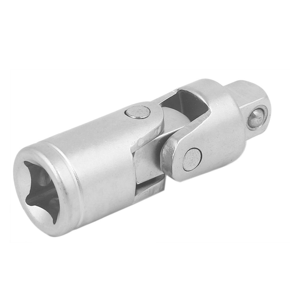 "3/8"" Square Driver Chrome Vanadium Steel 90 Degree Universal Joint Swivel Socket"