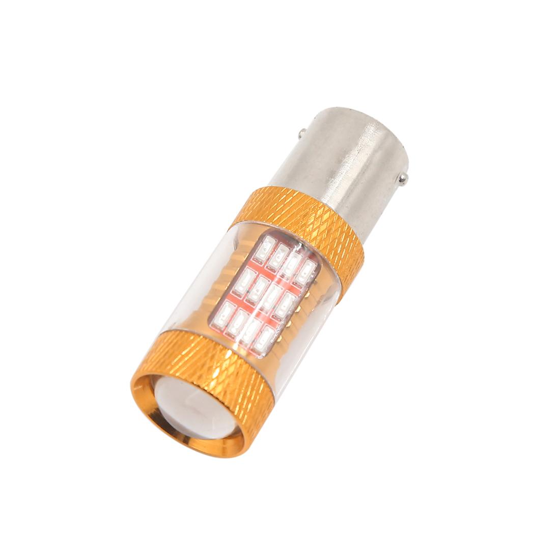 1156 BA15S 54 Red 4014 SMD LED Tail Turn Reverse Light Bulb DC 12V for Car