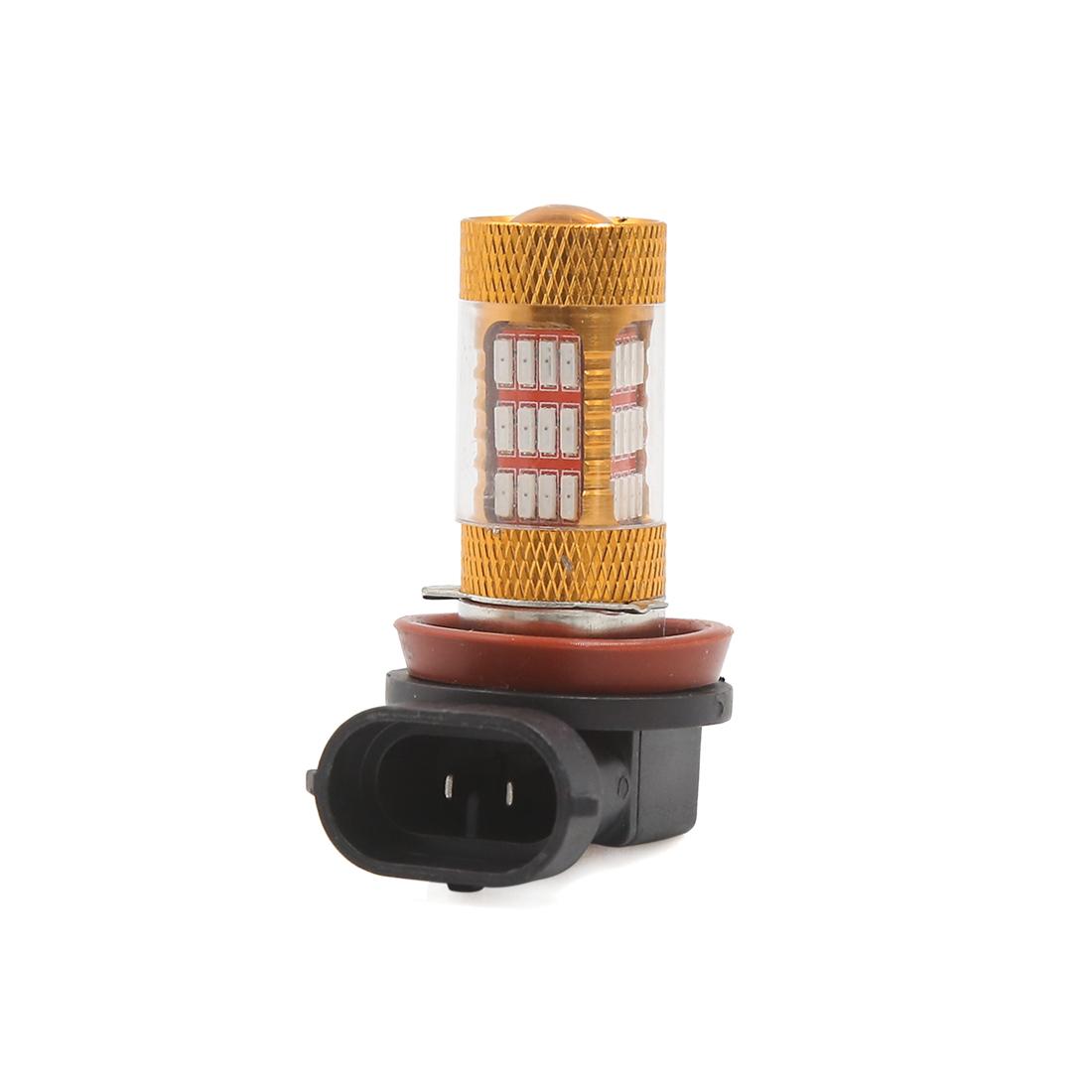 DC 12V H8 H11 54 Red LEDs 4014 SMD Driving Fog Lamp Light Bulb for Car