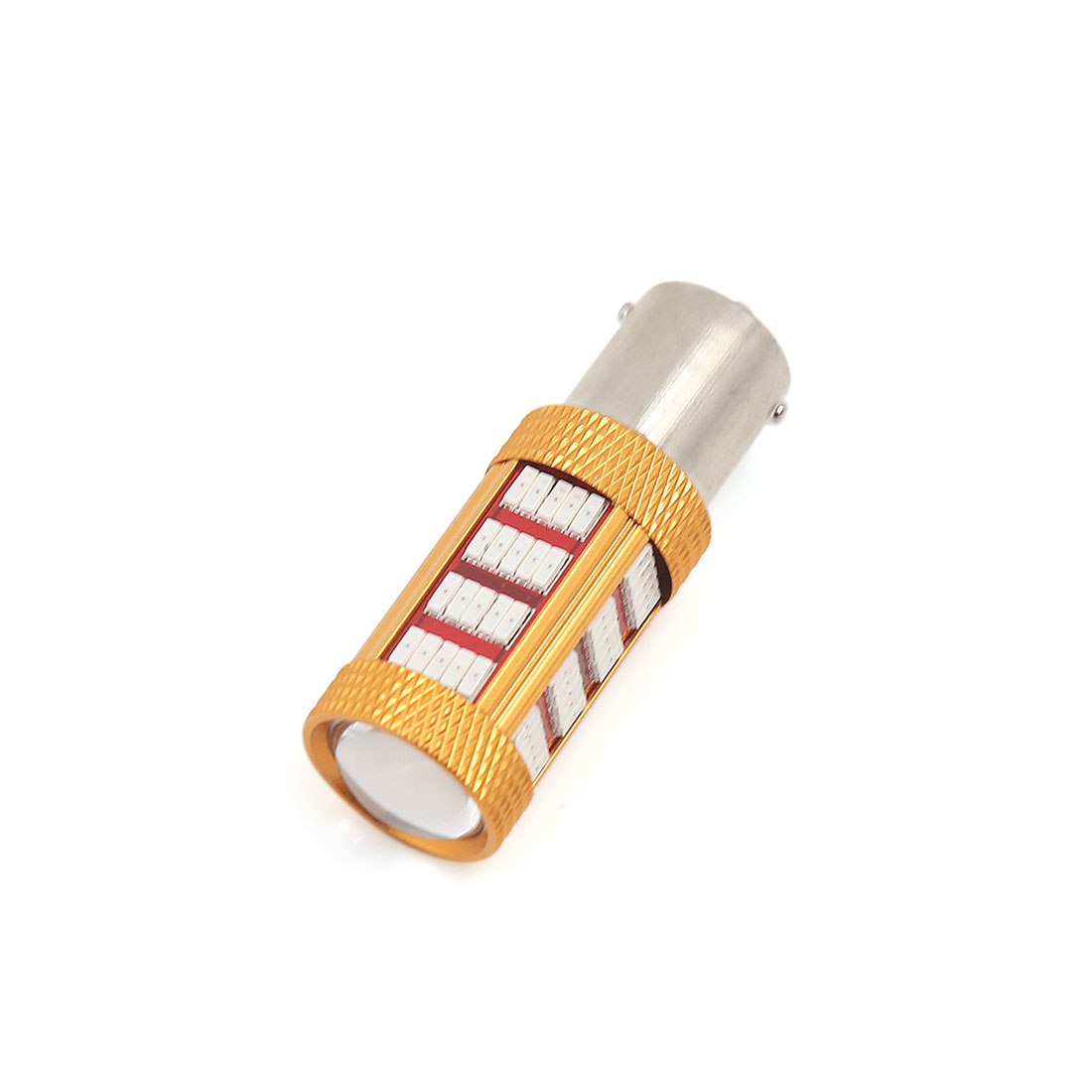 1156 92 Yellow LED 4014 SMD Tail Turn Reverse Light Bulb DC 12V for Car