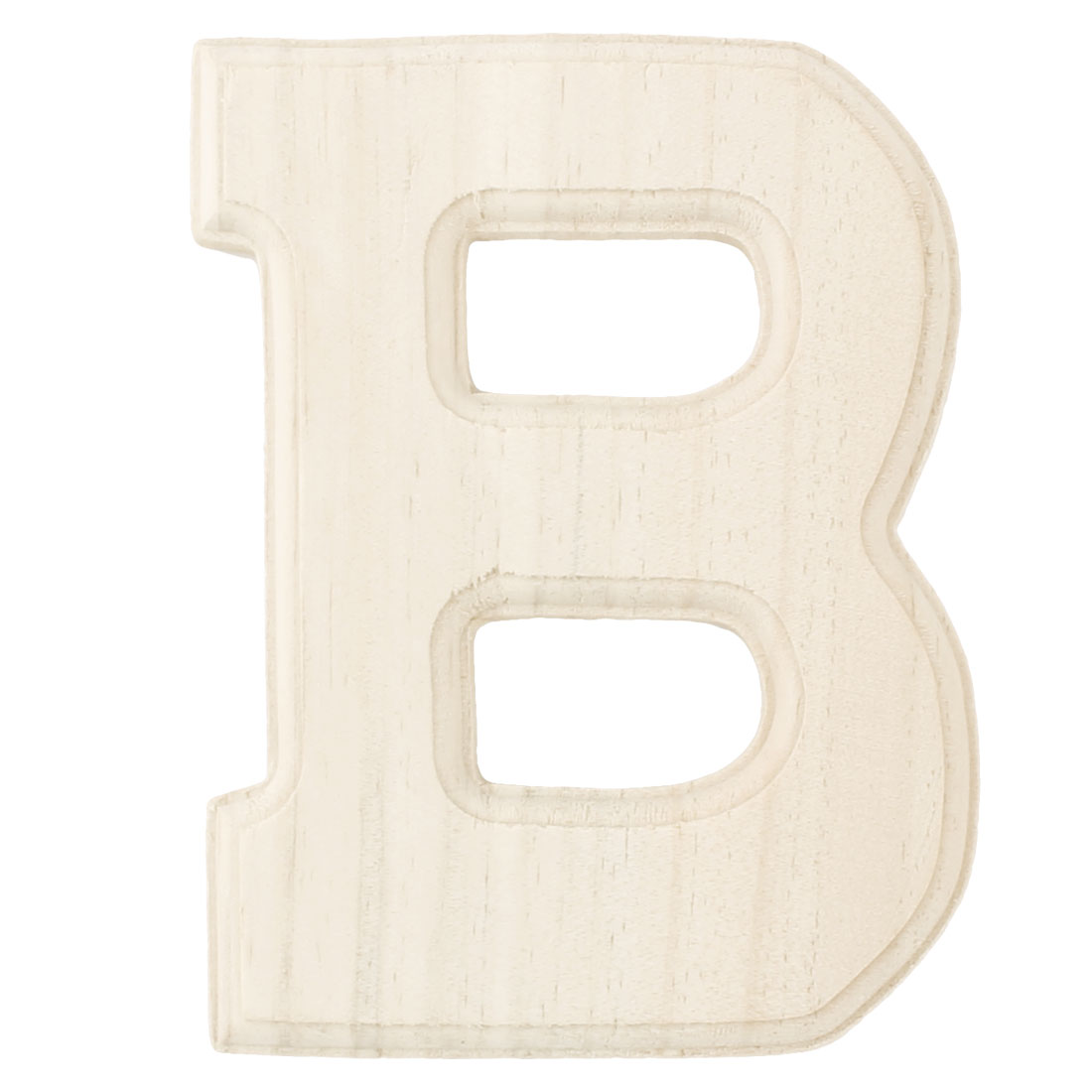 Wedding Party Wooden Decoration English B Letter Alphabet Word Free DIY Wall Wood Color