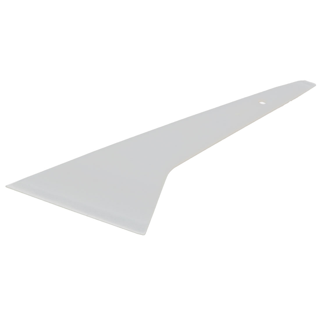 Car Window Plastic Film Bubble Tint Scraper Tool White 19 x 17 x 0.5cm