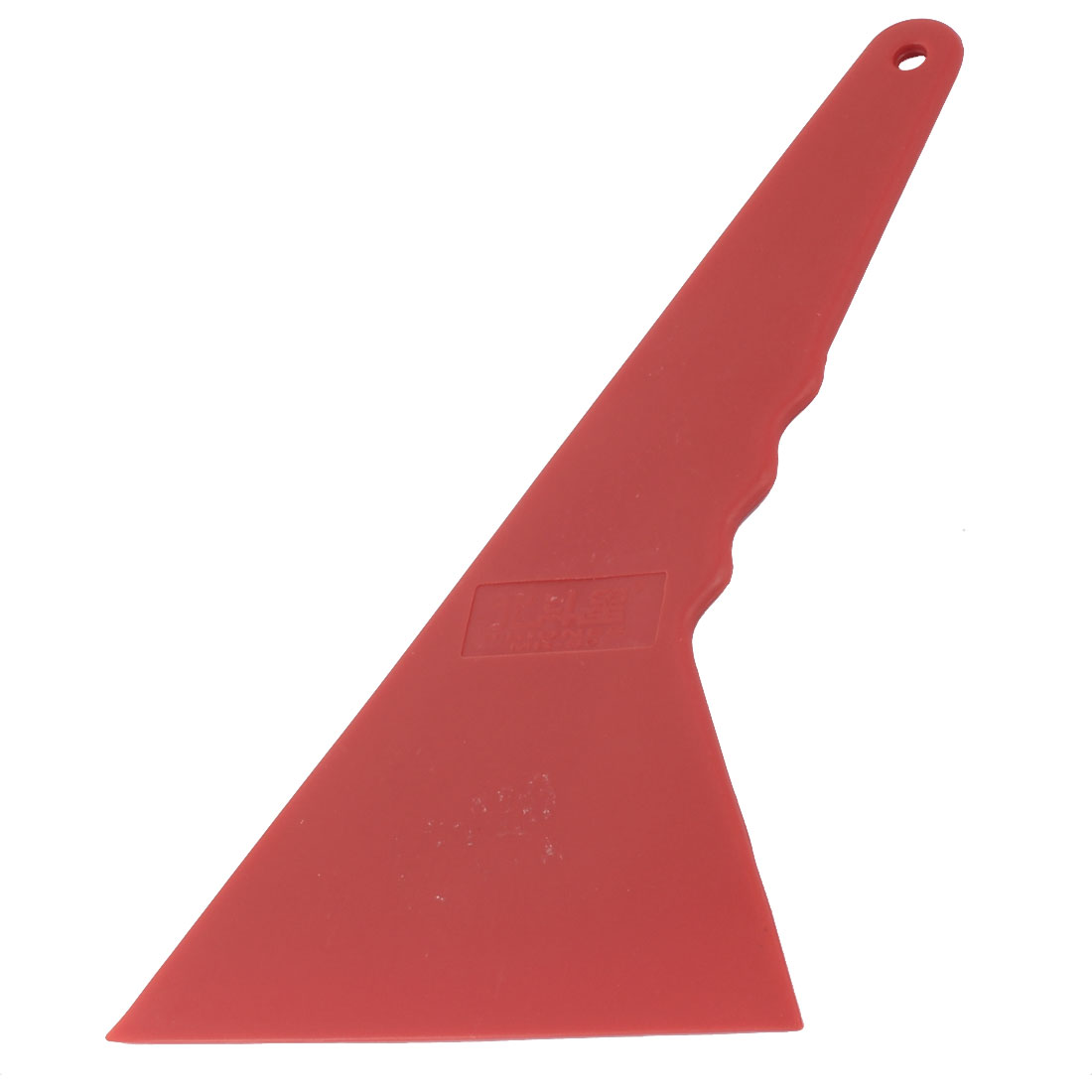 Car Window Film Wrap Tint Cleaning Scraper Tinting Tool Red 25 x 12 x 0.5cm