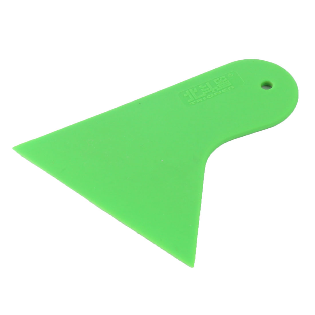 Car Auto Window Film Wrap Installation Cleaning Scraper Tool Green 10.5 x 9.8 x 0.4cm