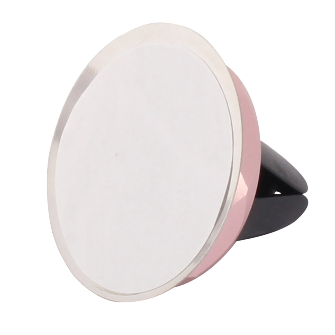 Car Magnetic Air Vent Mount Mobile Phone GPS Holder Stand Rose Gold Tone