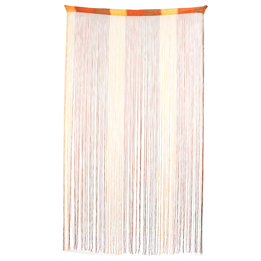 Home Restaurant Polyester Straight Line Tassel Divider Decoration String Curtain