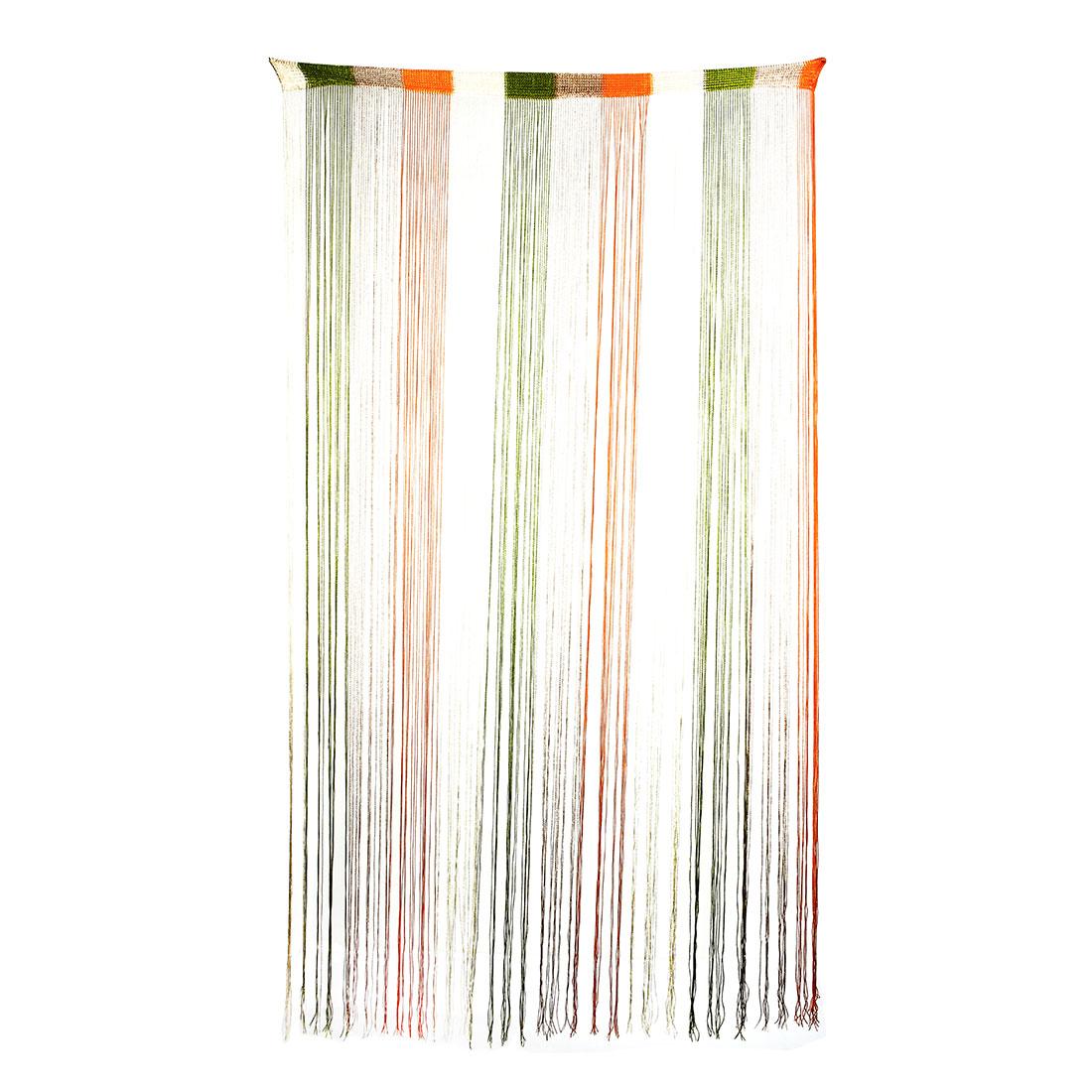 Restaurant Window Straight Line Tassel Divider Background Decoration String Curtain