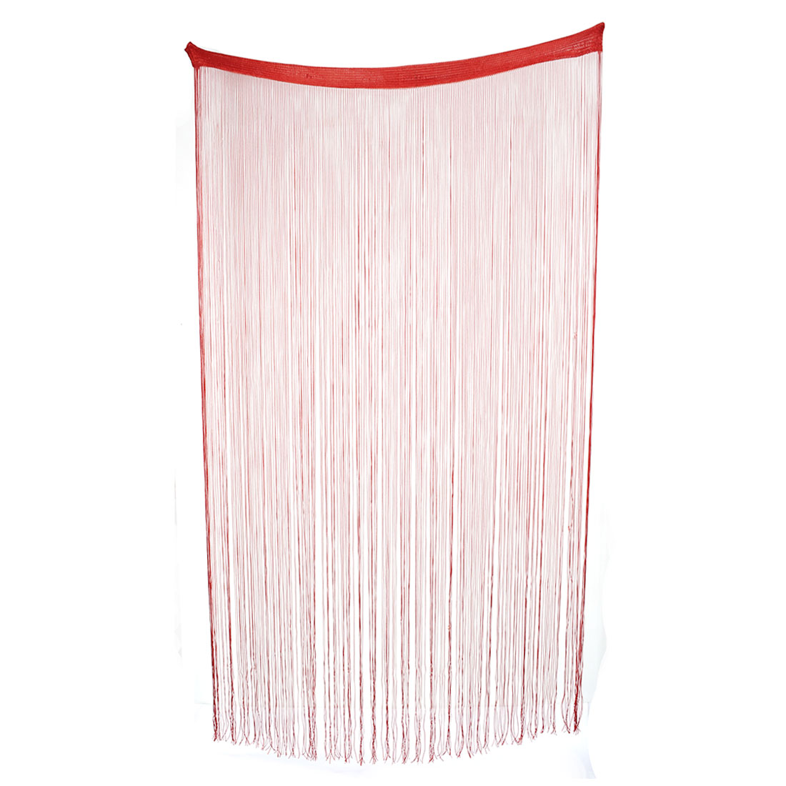 Household Door Window Straight Line Tassel Divider Decoration String Curtain Red