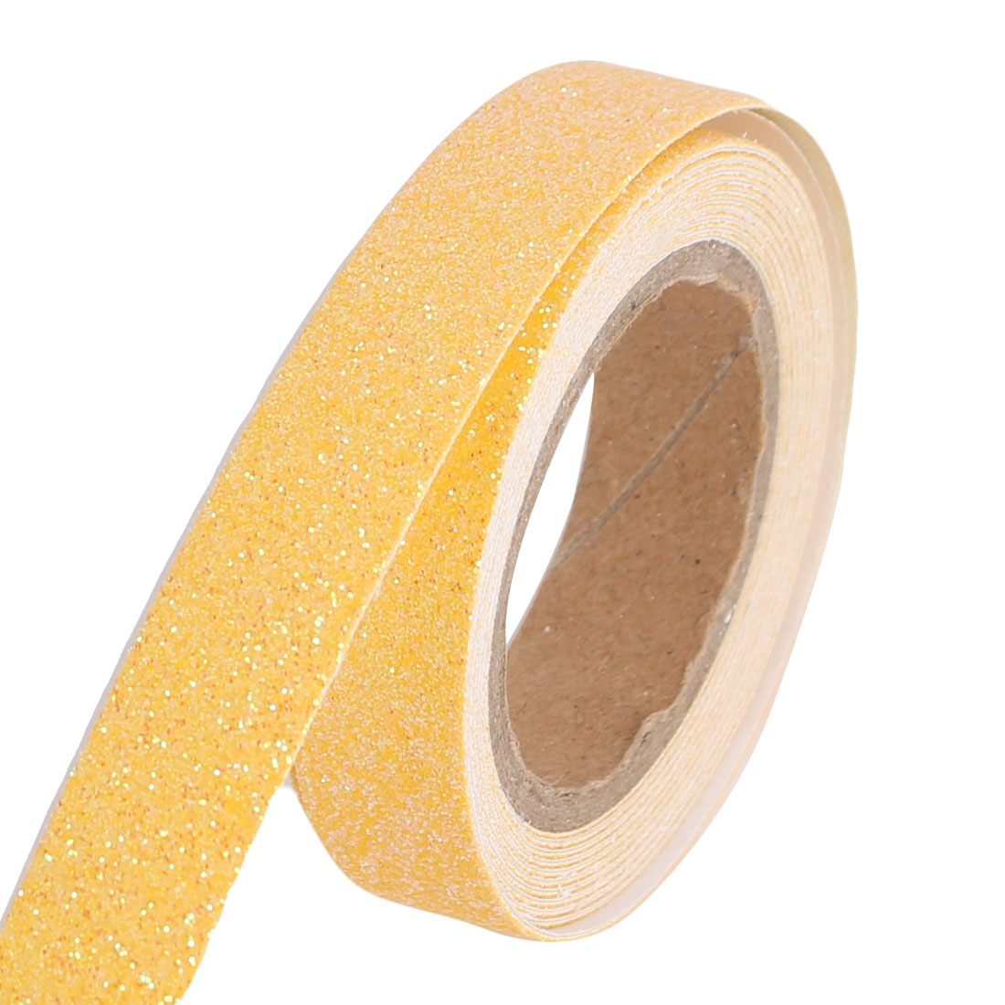 Glitter Self Adhesive Decorative DIY Crafting Sticky Paper Tape Sticker Yellow