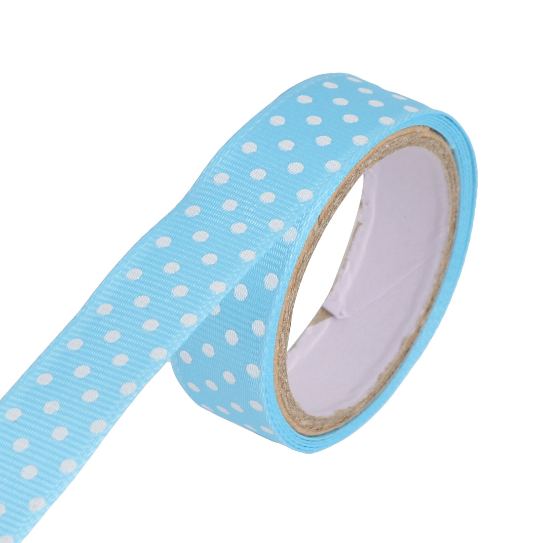 Polka Dots Design Scrapbooking DIY Gift Packing Decorative Sticky Tape Roll Sticker