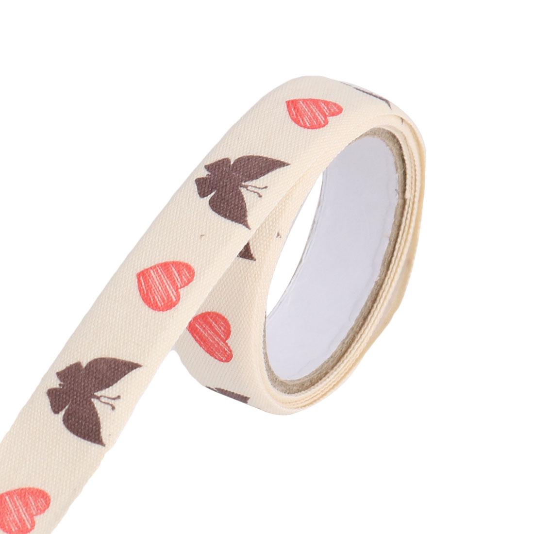 Butterfly Pattern DIY Scrapbooking Decorative Sticky Tape Stationary Sticker Roll