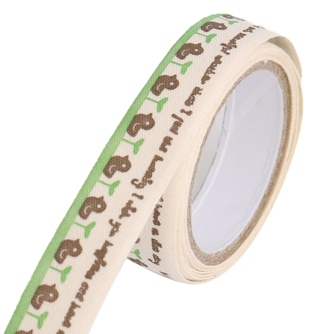 Chickabiddy Pattern DIY Scrapbooking Decorative Sticky Tape Stationary Sticker Roll