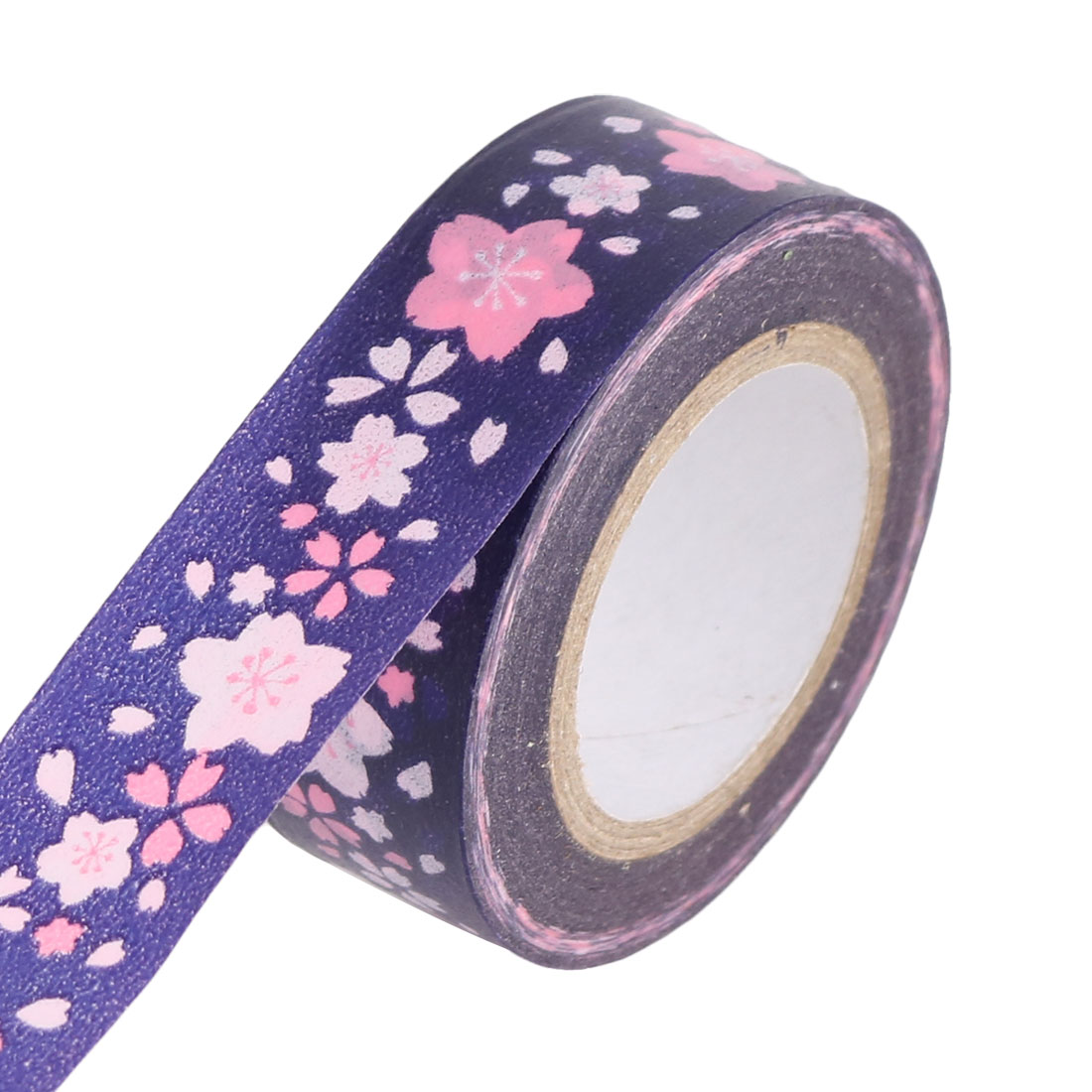 Flower Pattern DIY Scrapbooking Craft Decorative Washi Masking Tape Roll