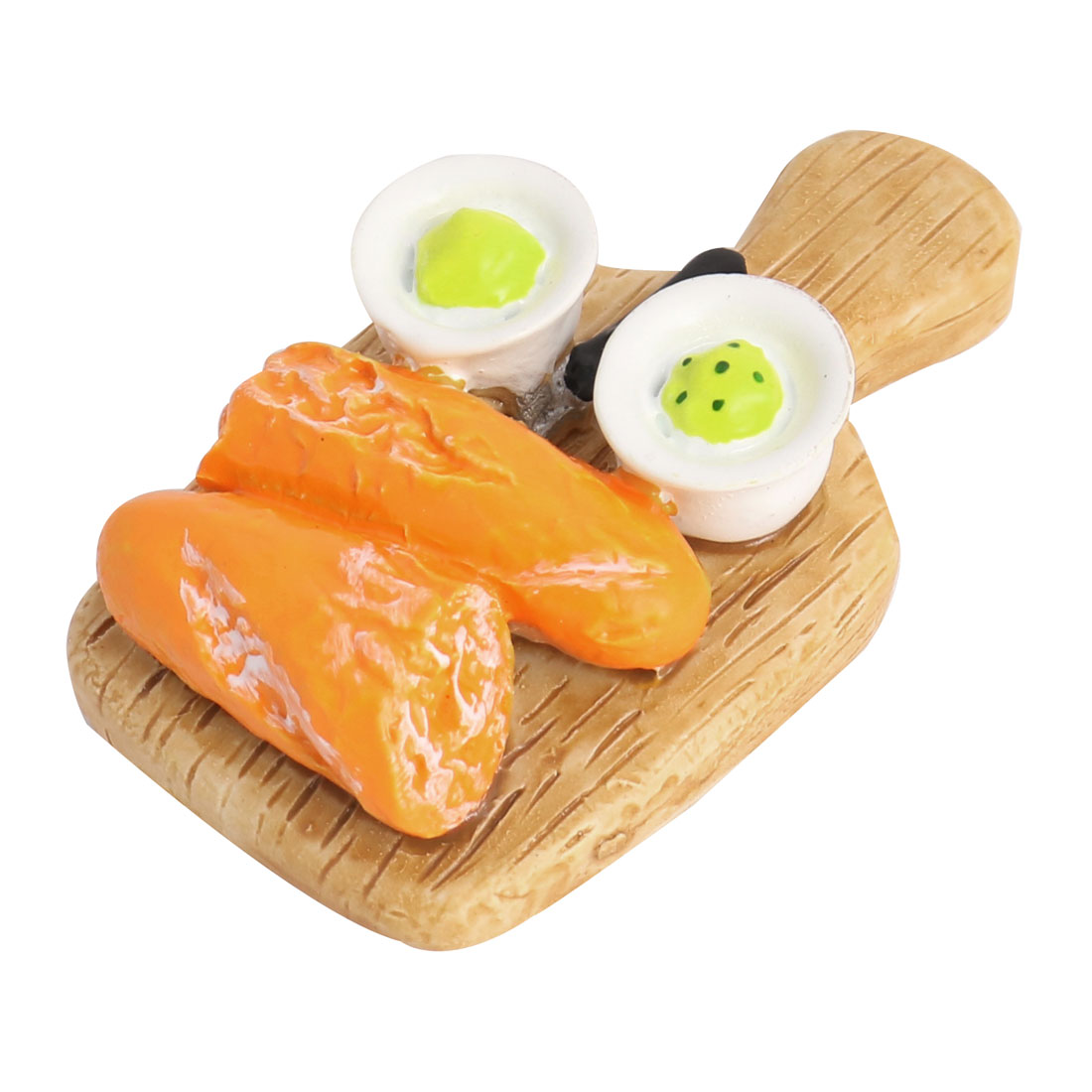 Home Fridge Resin Simulation Chopping Board Baguette Decorative Magnet Sticker