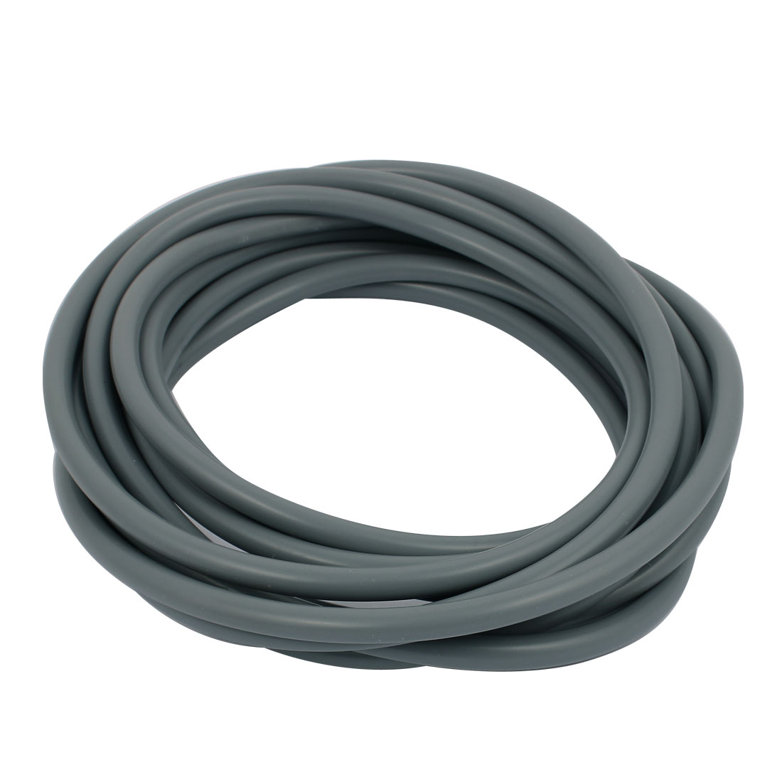 6mm x 8mm Gray Silicone Tube Water Air Pump Hose Pipe 5M Length