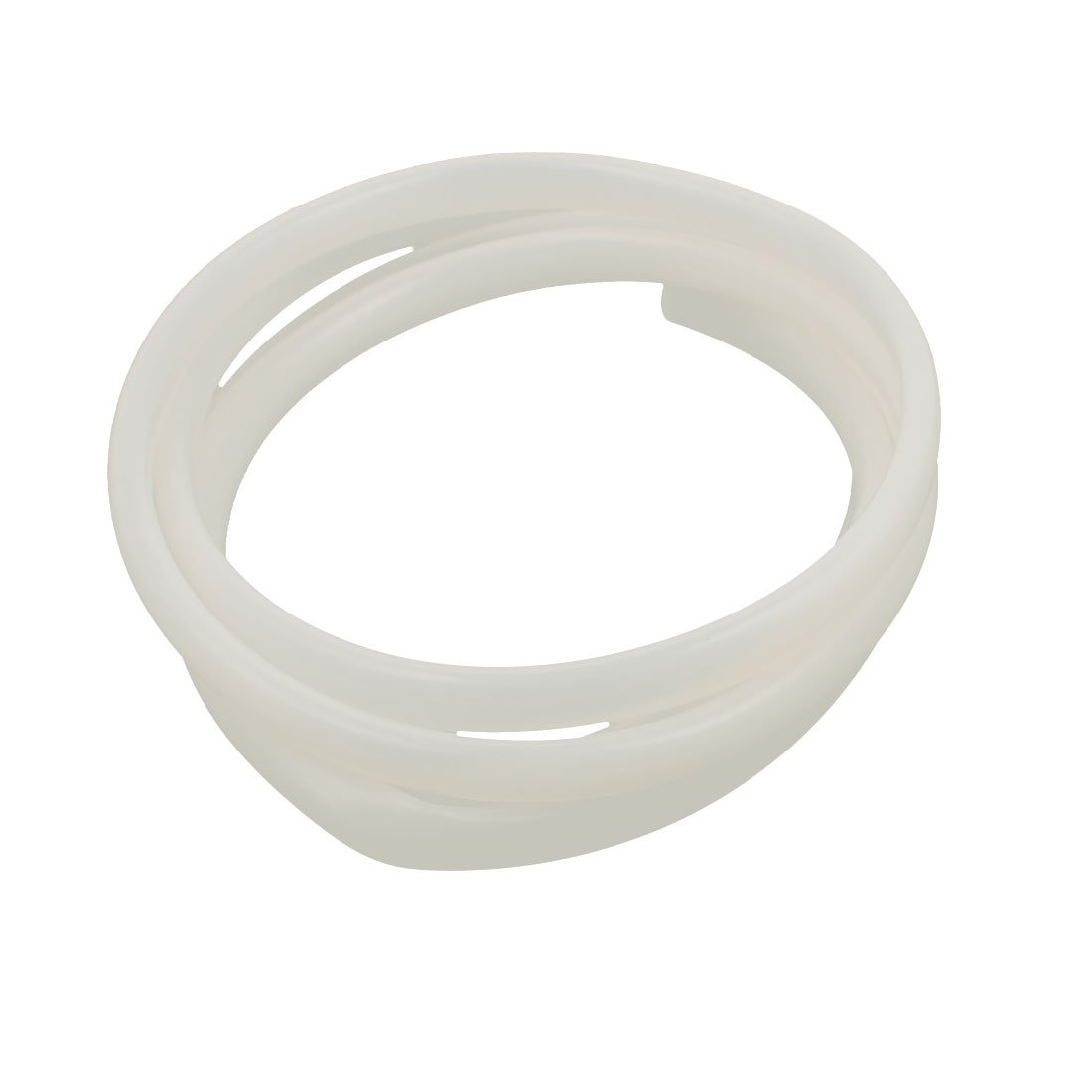 8mm x 10mm Beige Silicone Tube Water Air Pump Hose Pipe 2 Meters