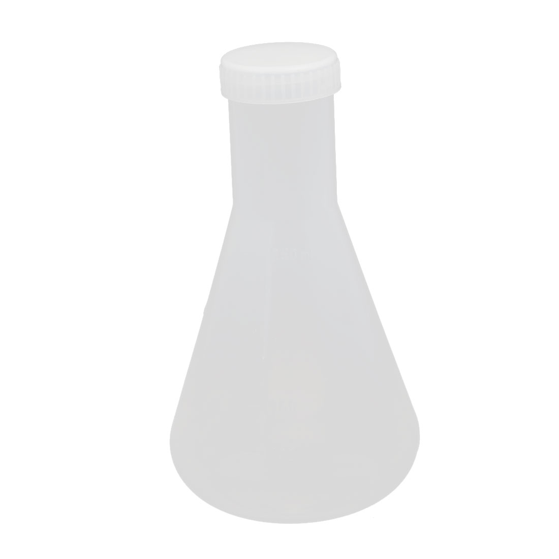 Experiment Laboratory 250ml PP Plastic Cone Measuring Cup Clear