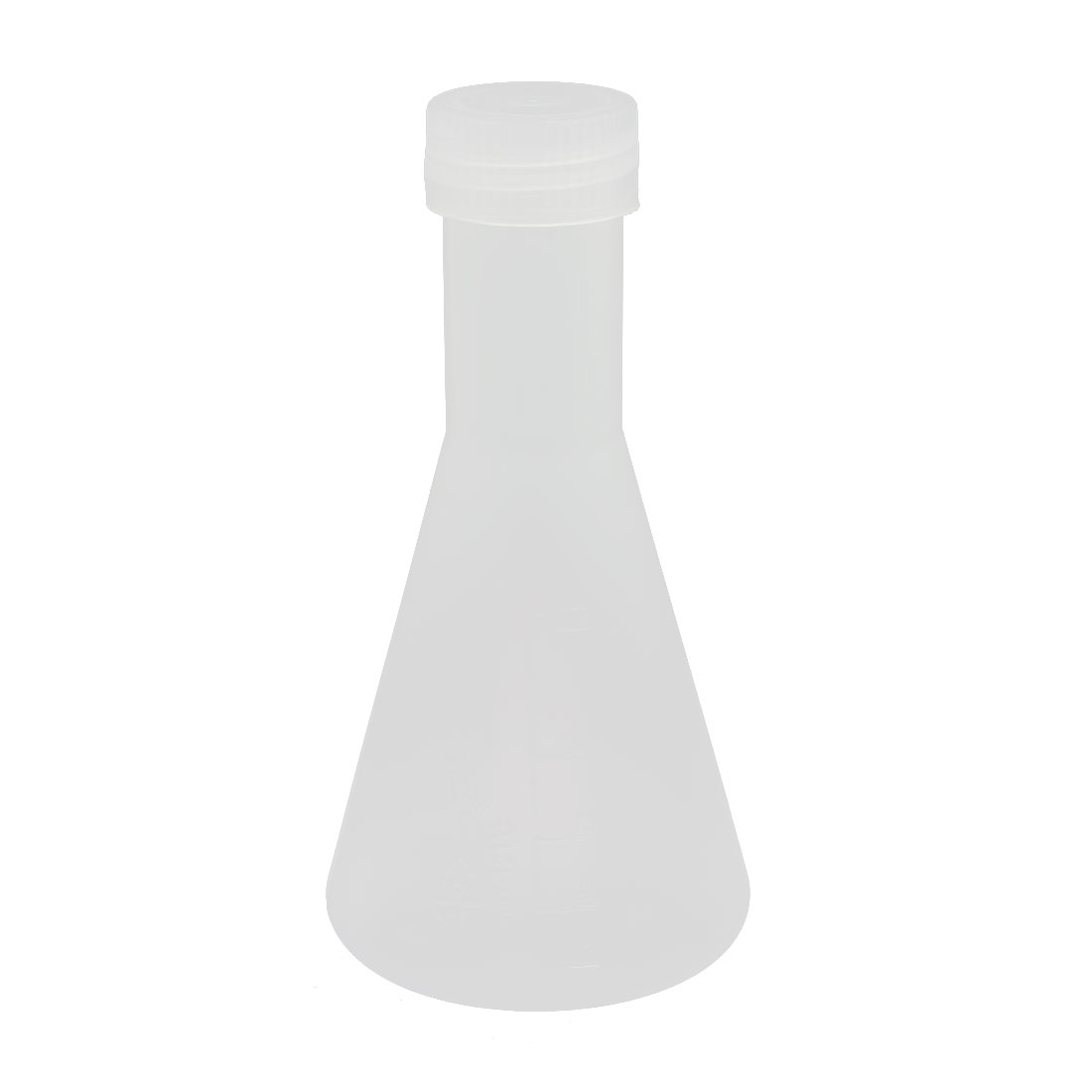 Experiment Laboratory 125ml PP Plastic Cone Measuring Cup Clear