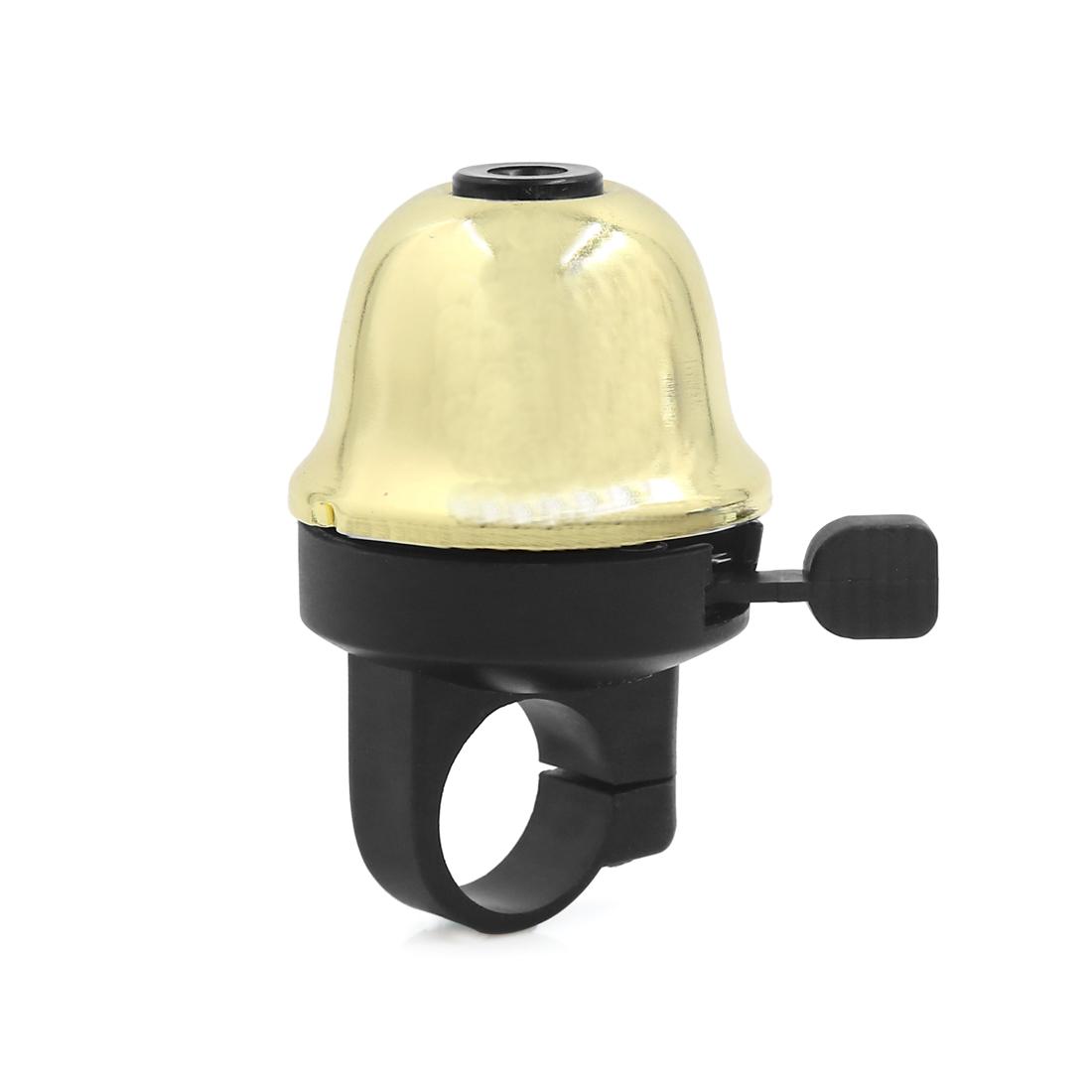 Gold Tone 22mm Handlebar Diameter MTB Bike Bicycle Safety Alarm Ring Bell