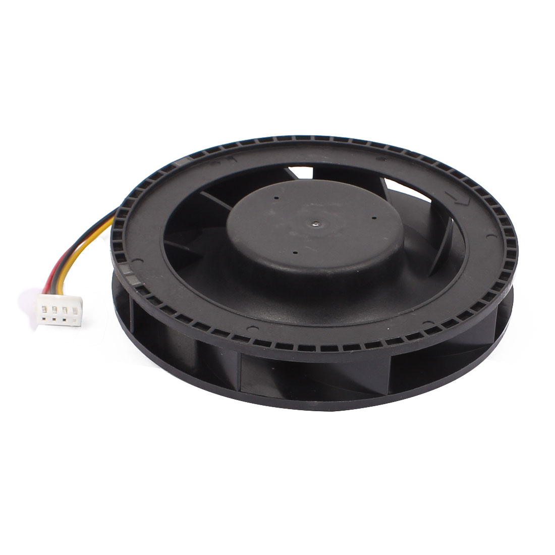DC 12V 100mm x 25mm 5000RPM Quiet Brushless Blower Cooling Centrifugal Fan