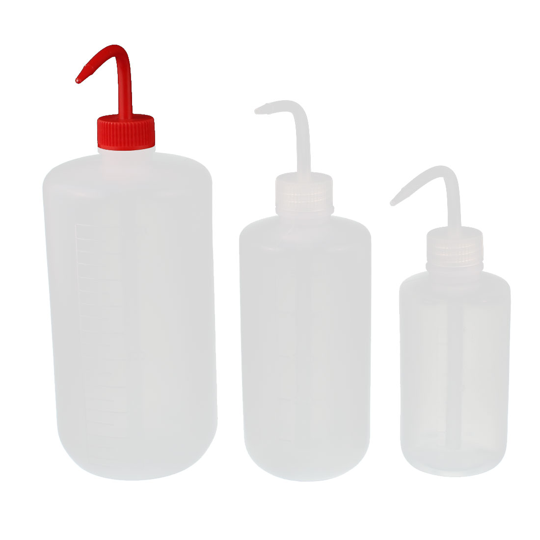 250ml 500ml 1000ml Plastic Sharp Beak Elbow Squeeze Bottle Flower Watering Kit