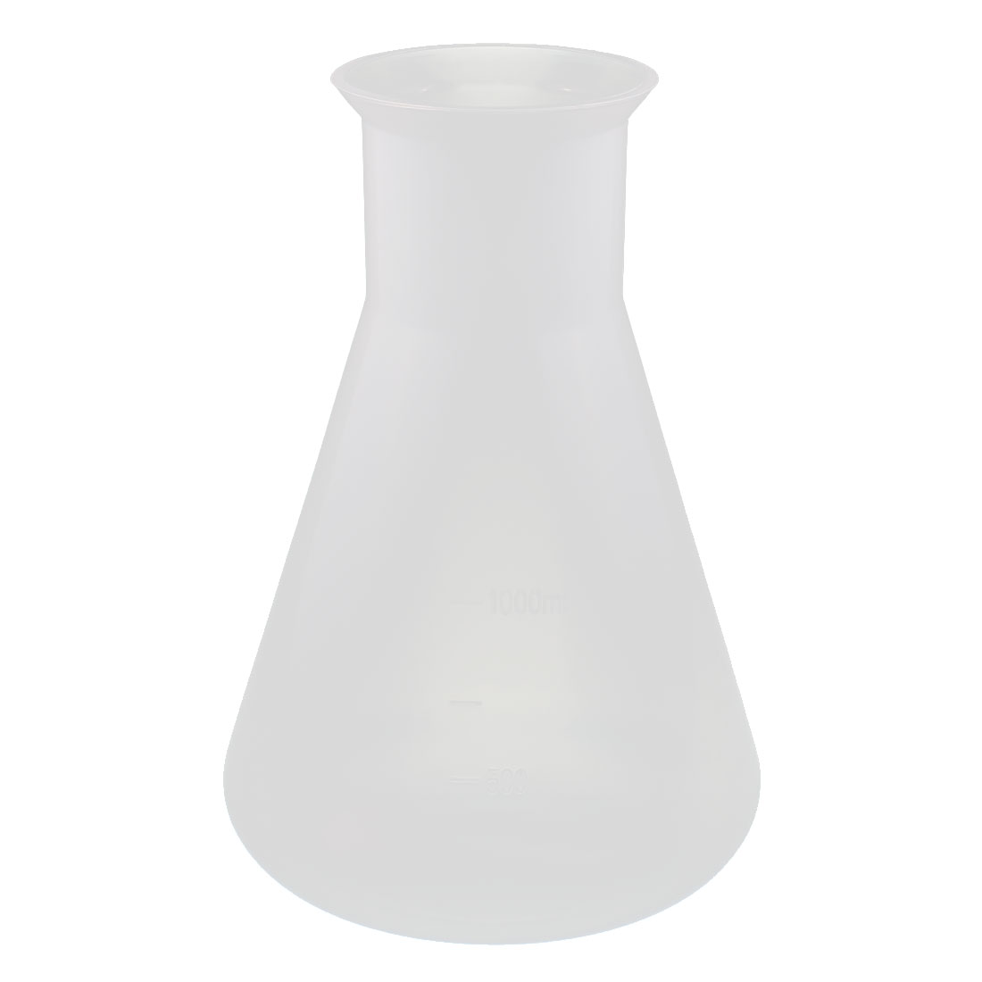 Chemistry Laboratory Equipment 1000ml Plastic Cone Measuring Cup Thicken Clear