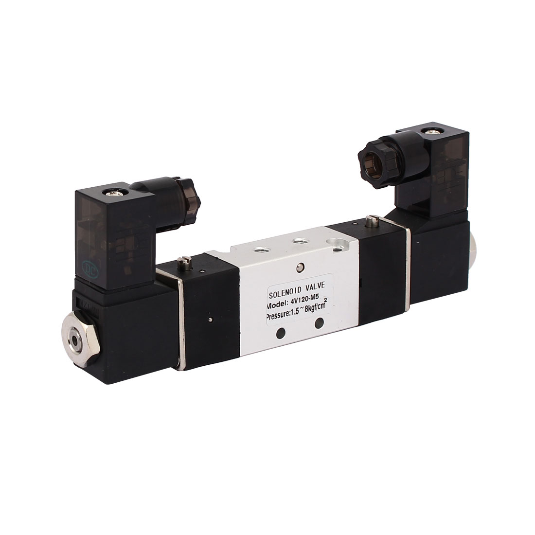 DC 12V 2 Position 5 Way Neutral Pneumatic Air Control Solenoid Valve 4V120-M5