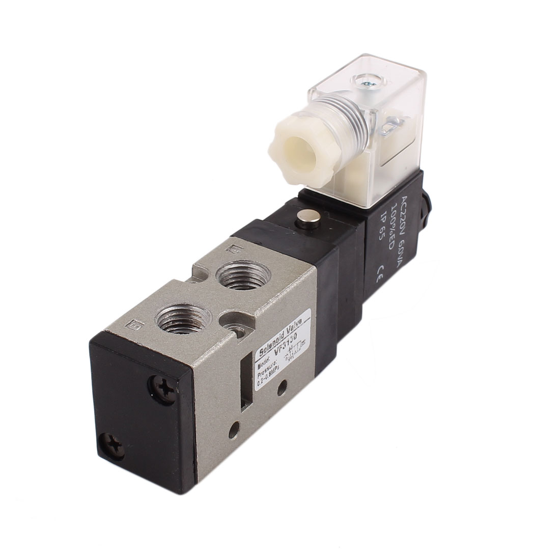 AC 220V Neutral Electric Pneumatic Component Air Control Solenoid Valve DS3130
