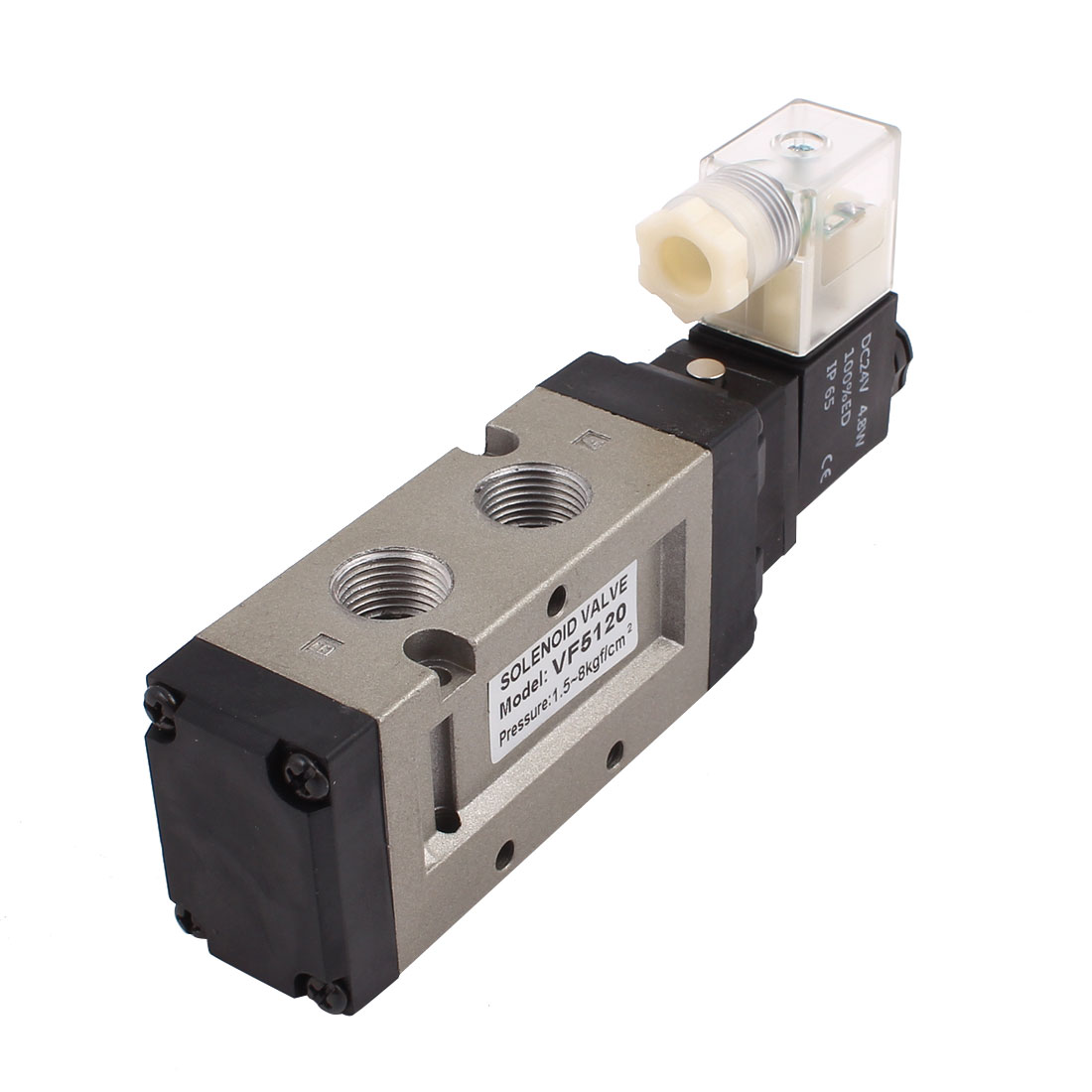 DC 24V 2 Position 5 Way Pneumatic Component Air Control Solenoid Valve DS5120
