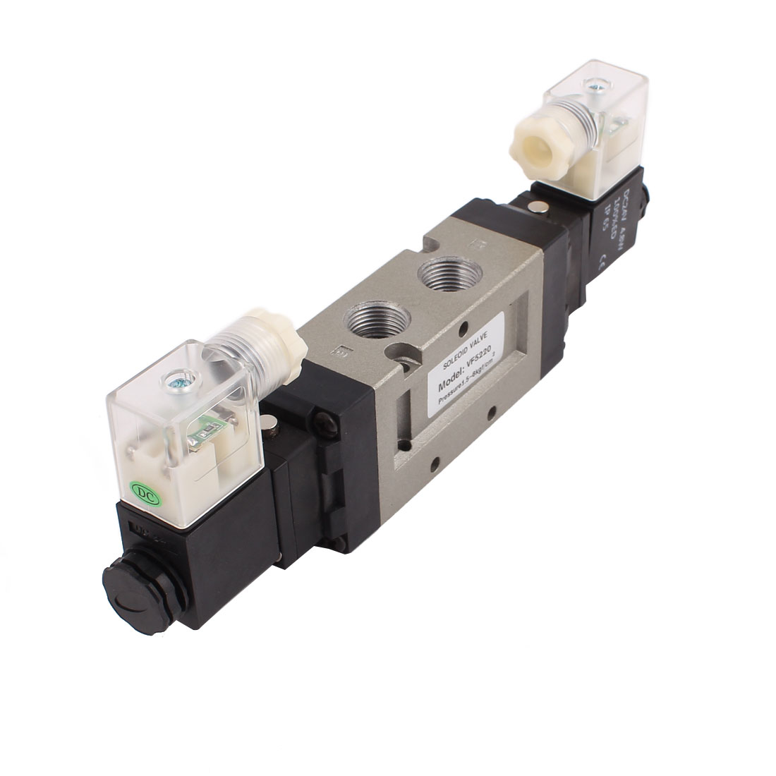 DC 24V Neutral Electric Pneumatic Component Air Control Solenoid Valve DS5220