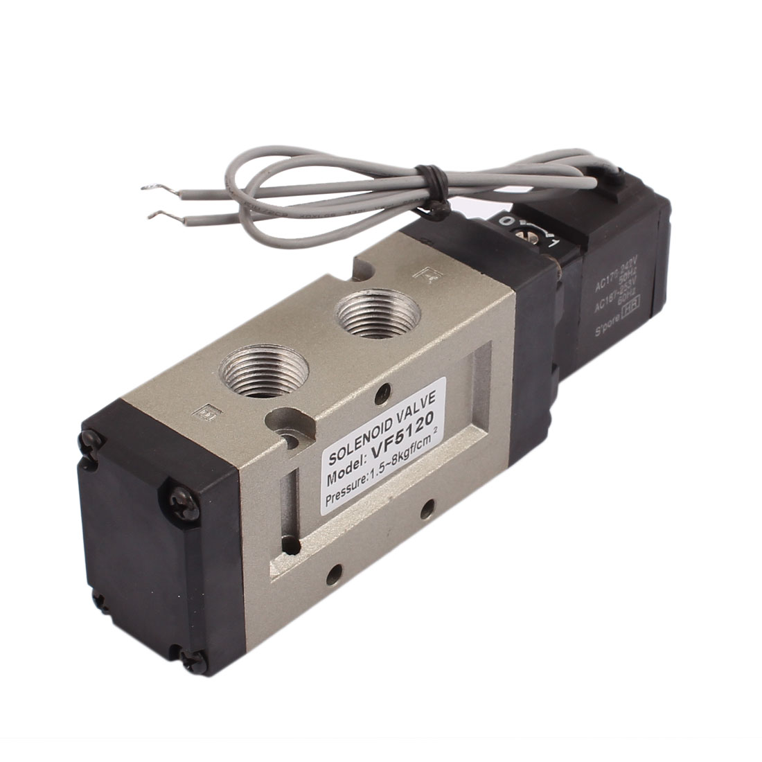 AC 220V 2 Position 5 Way Pneumatic Electromagnetic Solenoid Valve VF5120-4GB
