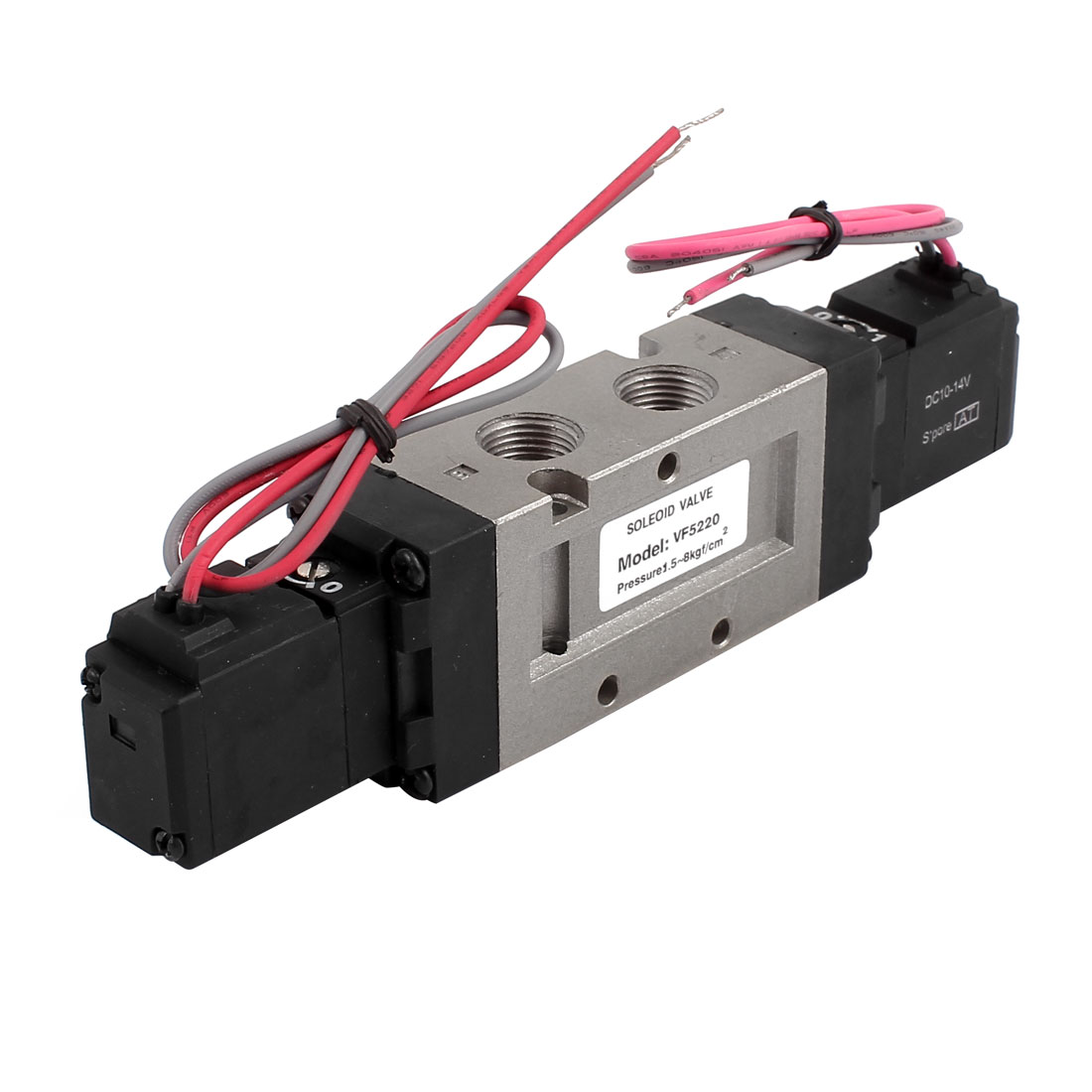 DC 12V 2 Position 5 Way 4 Wires Pneumatic Solenoid Valve VF5220-6GB