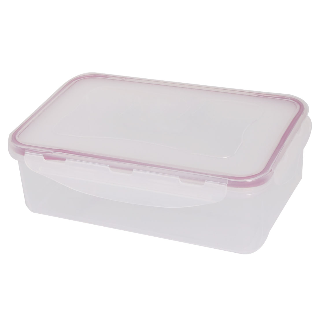 Household Kitchenware PP Rectangle Sealed Food Vegetable Fruit Storage Container 0.9L