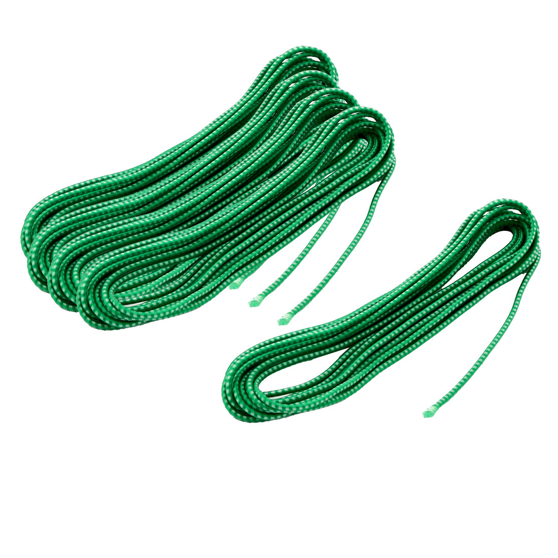 Household Rubber Pants Trousers Sewing Stretchy Elastic String Rope Green 5pcs
