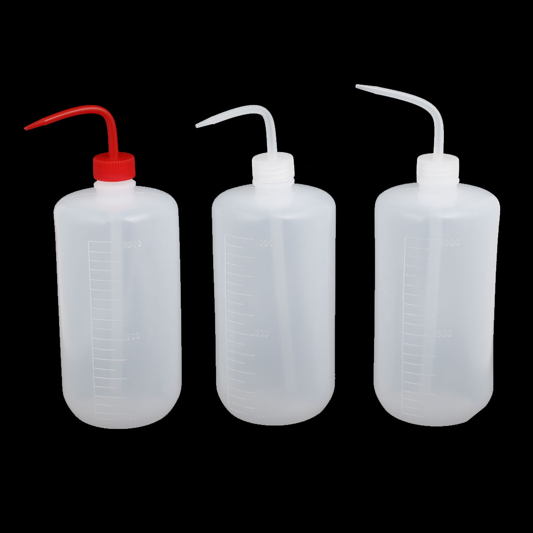 1000ml Soft Plastic Sharp Beak Elbow Squeeze Bottle Flower Watering Kit