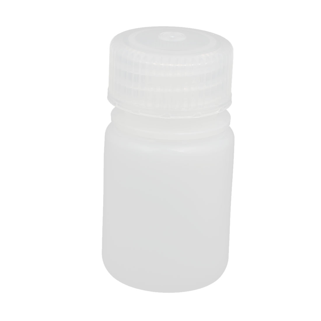30ml Plastic Round Laboratory Reagent Bottle Sample Thicken Bottle White